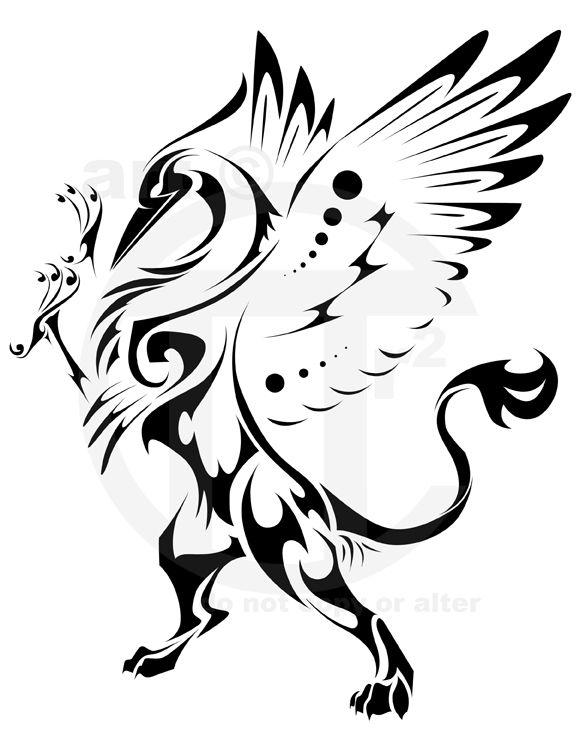 45 Amazing Griffin Tattoo Designs