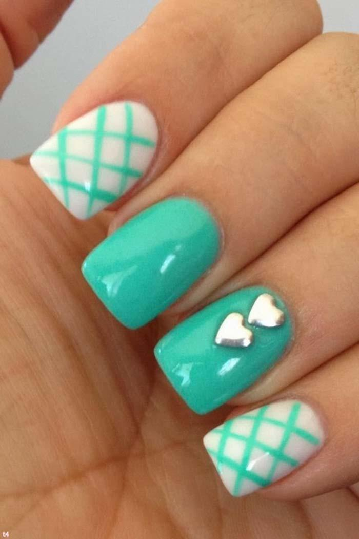 50 stylish acrylic short nail design ideas 50 most stylish acrylic nail art design ideas prinsesfo Gallery