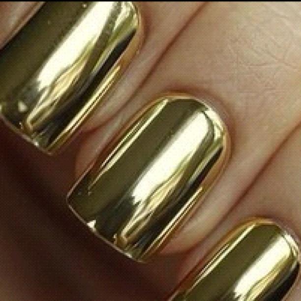 Metallic Gold Gel Nail Polish Opi Hession Hairdressing