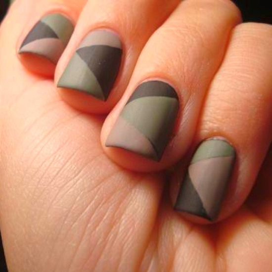 50 Beautiful Stylish And Trendy Nail Art Designs For: 50 Most Beautiful Matte Nail Art Design Ideas For Trendy Girls