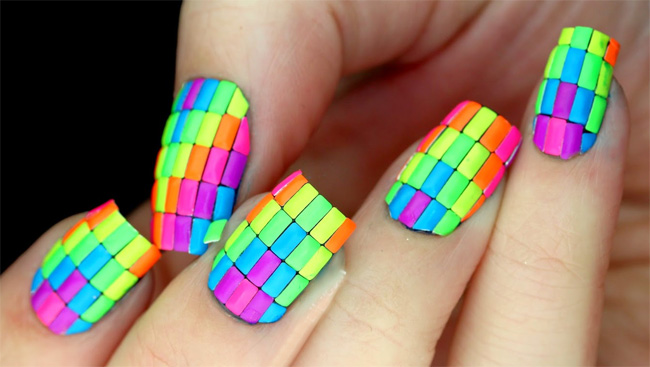 Acrylic Nails Neon | Best Nail Designs 2018