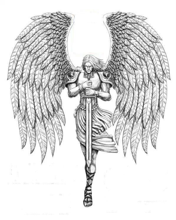 19+ Archangel Tattoo Designs
