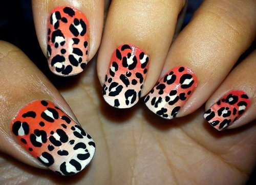 35 Nail Art Designs Ody Knows About Leopard Print - Nailartgallery An Easy Diy For Snow Leopard Nails. Easy Hot