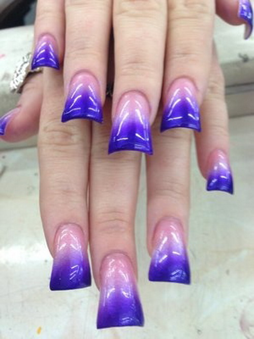 Purple Acrylic Nail Designs Pictures to Pin on Pinterest - PinsDaddy