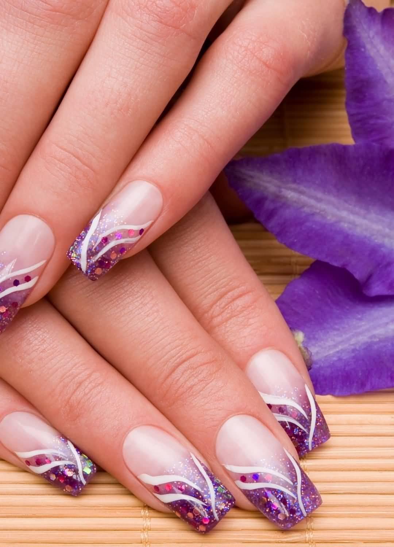 50 most stylish acrylic nail art design ideas