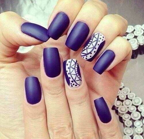 Image result for matte nail arts
