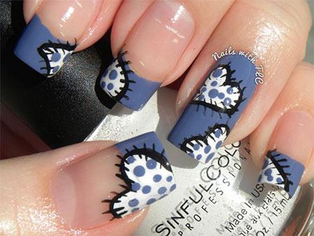 Valentines Day Nail Designs Communiquerenligne