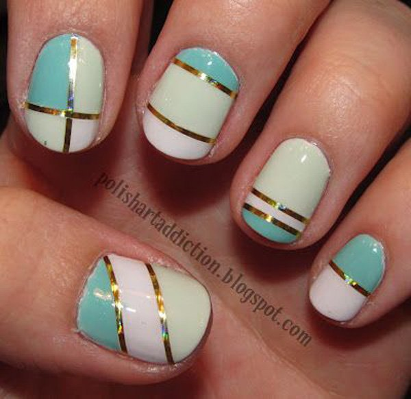 how to make nail art strips