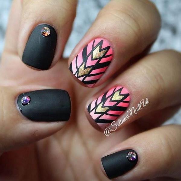 Matte Nail Art: 55+Most Stylish Matte Nail Art Designs