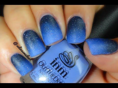 55most stylish matte nail art designs