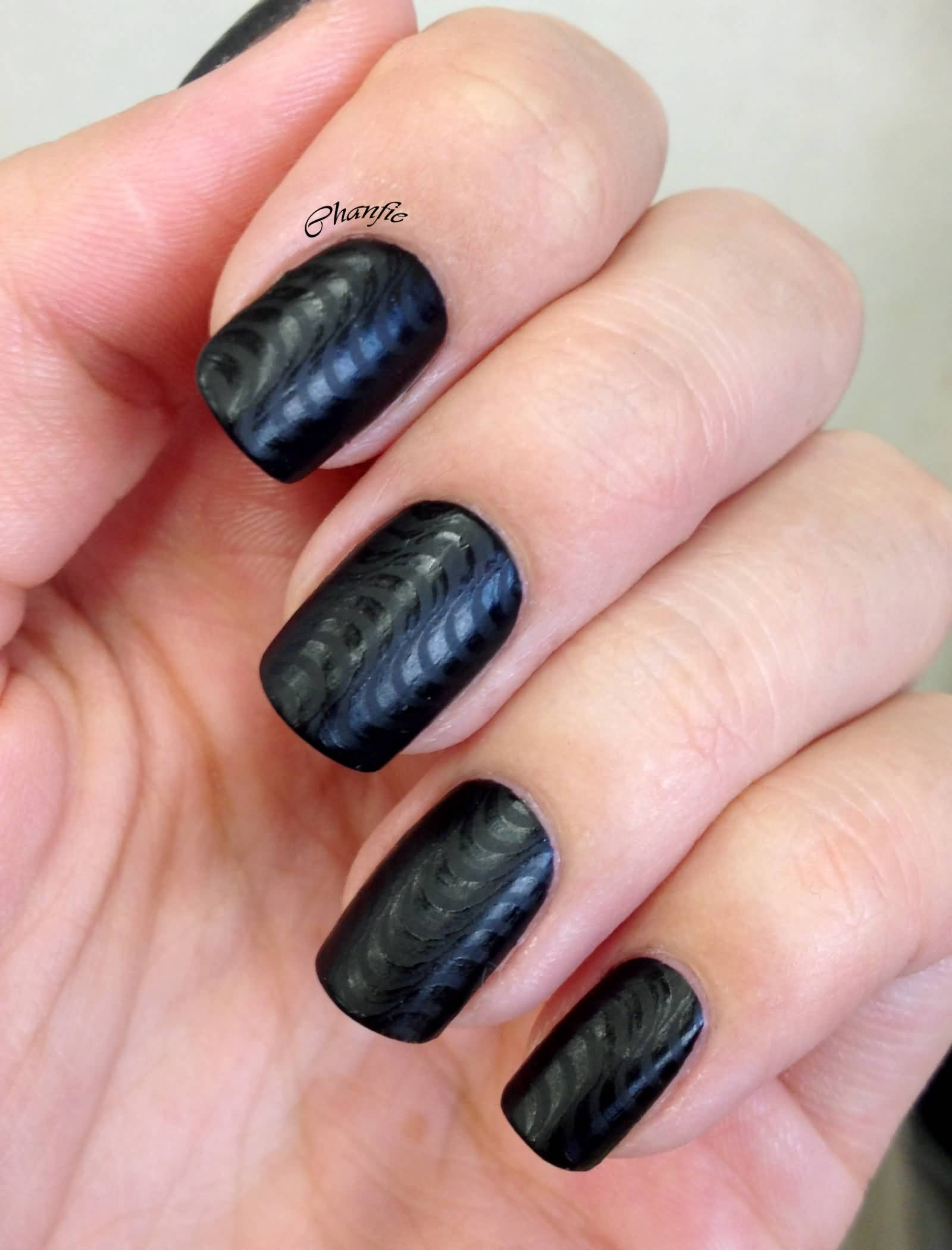 how to ask for matte nails