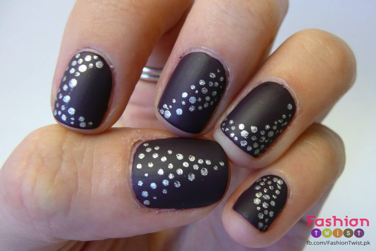 55+Most Stylish Matte Nail Art Designs