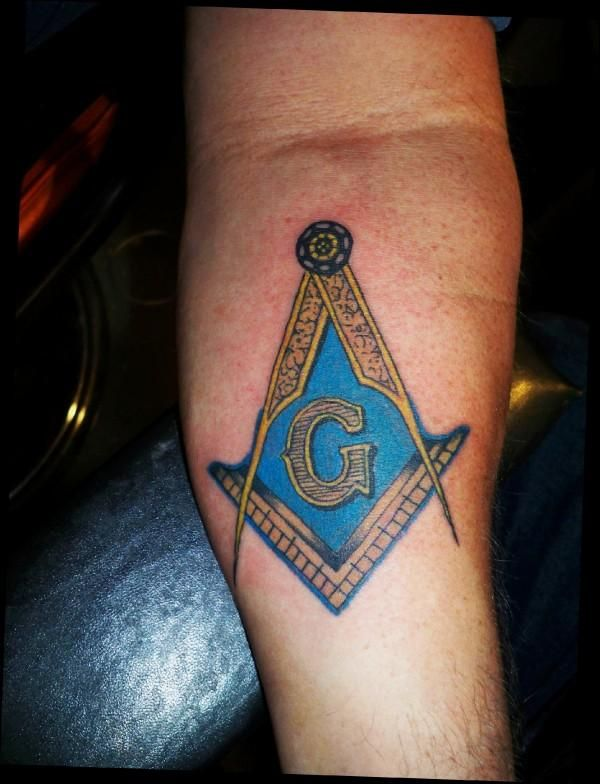 14 Nice Masonic Tattoos On Forearm