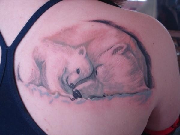 21 Cute Polar Bear Tattoos