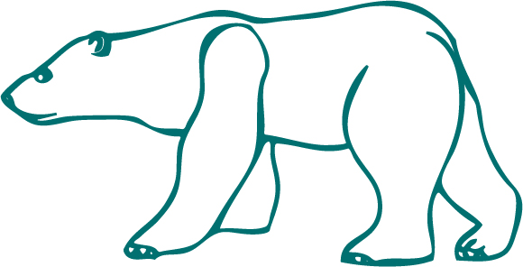 29 Amazing Polar Bear Tattoo Designs