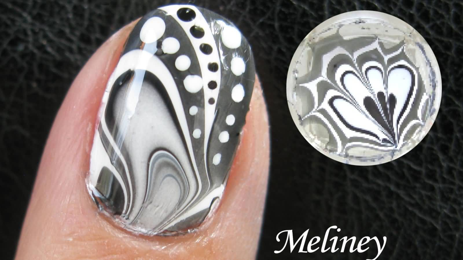57+ Beautiful Marble Nail Art Design Ideas