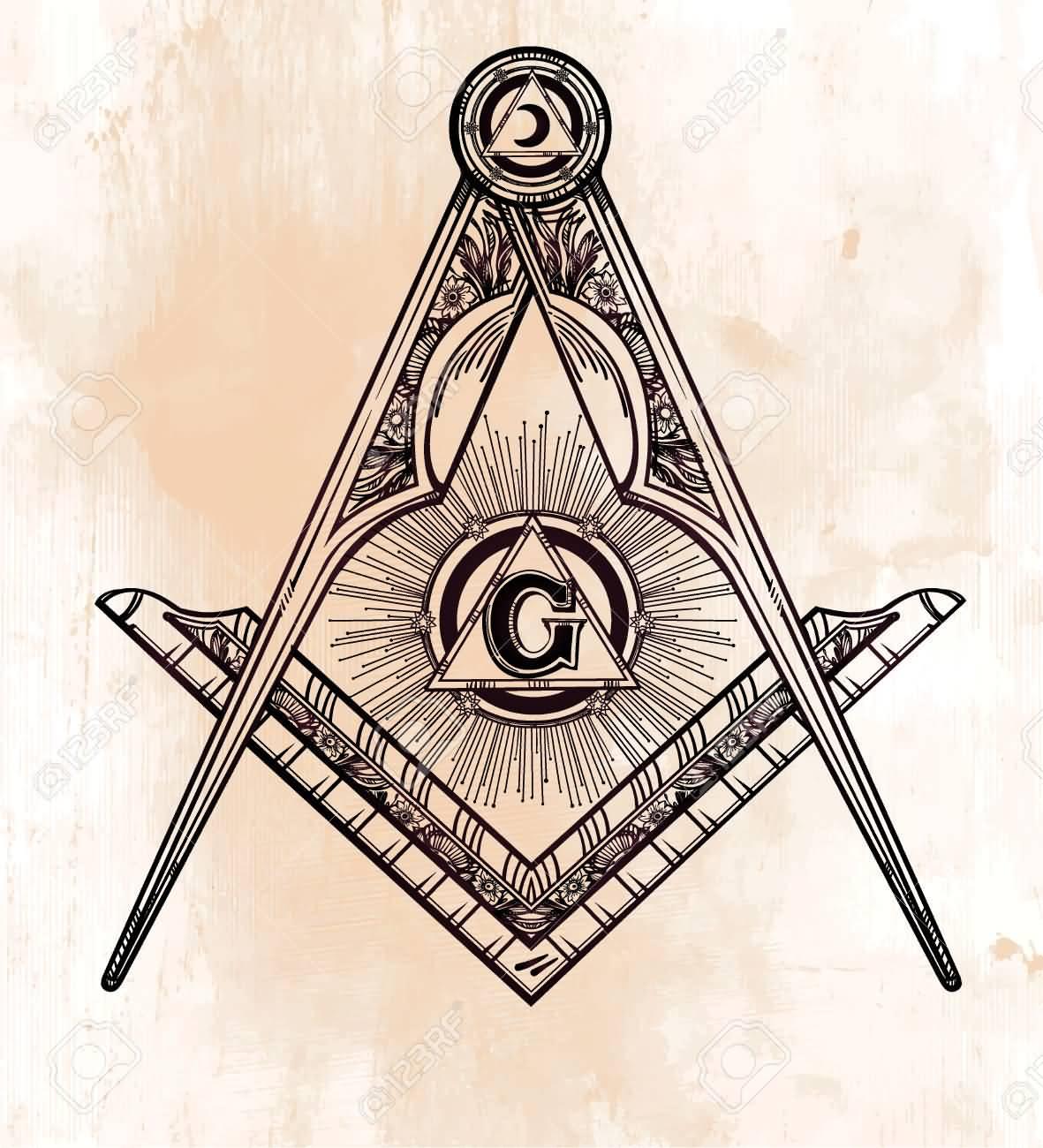12 masonic symbol tattoo designs. Black Bedroom Furniture Sets. Home Design Ideas