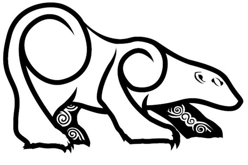 29+ Amazing Polar Bear Tattoo Designs