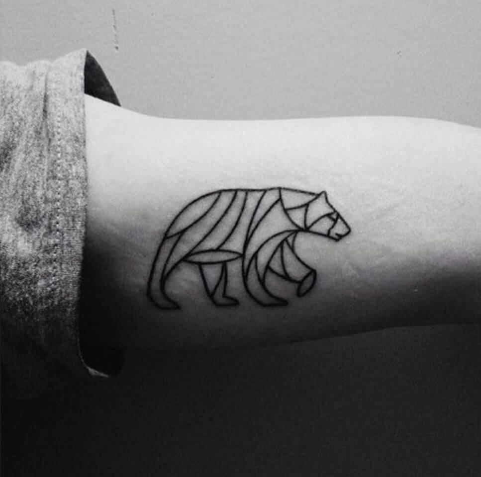 Bear Tattoo Small