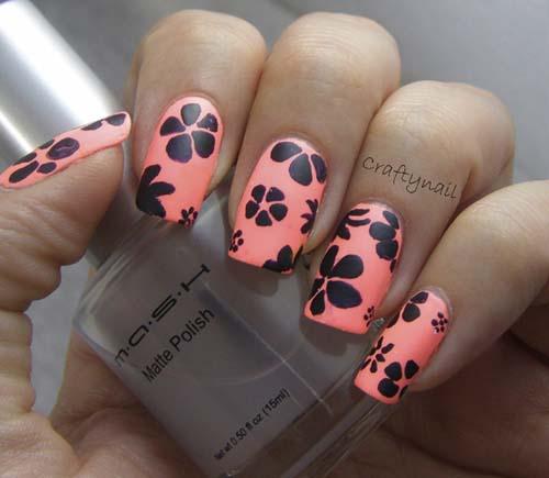 Craftynail: 50 Most Beautiful Matte Nail Art Design Ideas For Trendy Girls