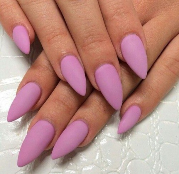 50 Most Beautiful Matte Nail Art Design Ideas For Trendy Girls