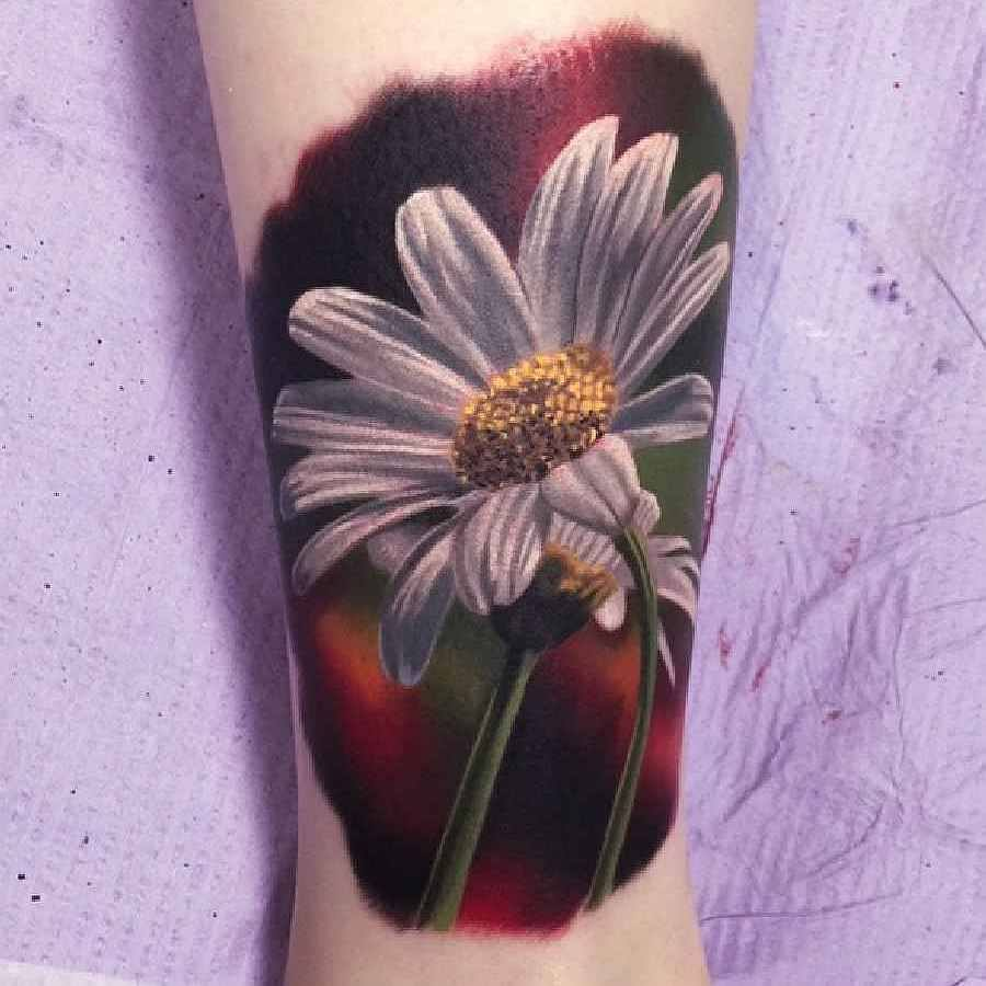 Realistic Flower Tattoos On The Right Forearm Tattoo: 20 Best Flowers Sleeve Tattoo Design, Images And Pictures