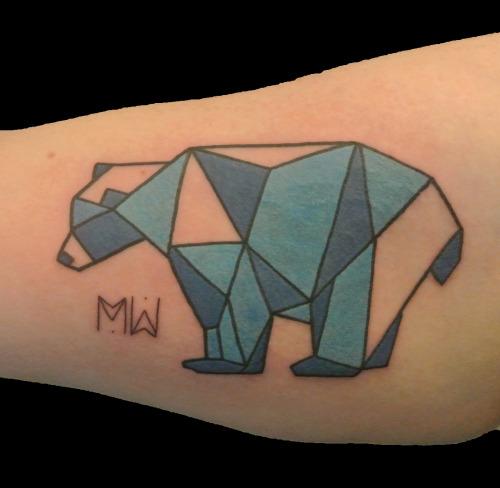 5 geometric polar bear tattoos. Black Bedroom Furniture Sets. Home Design Ideas