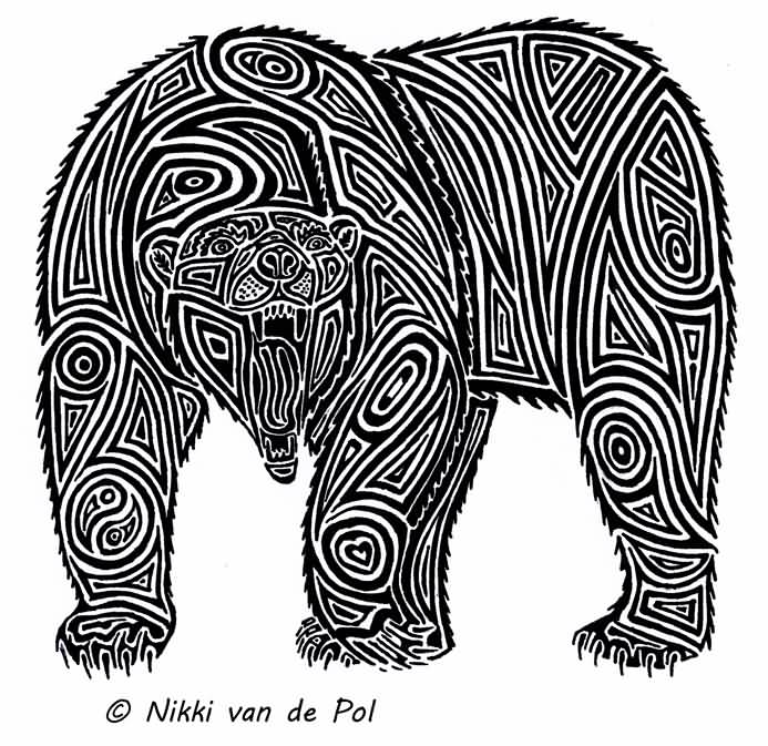 13+ Tribal Polar Bear Tattoos