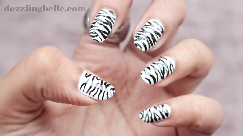 Nail Art Designs Zebra Print Hireability
