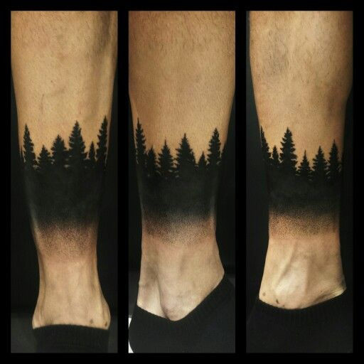 18 simple forest tattoo designs