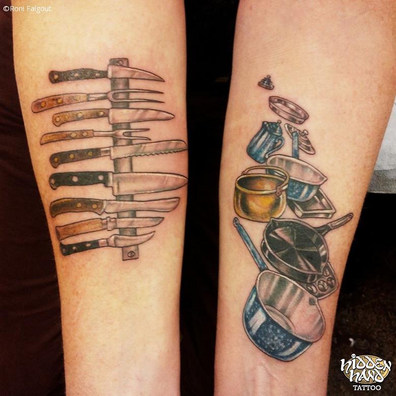 48 chef tattoos on forearm. Black Bedroom Furniture Sets. Home Design Ideas