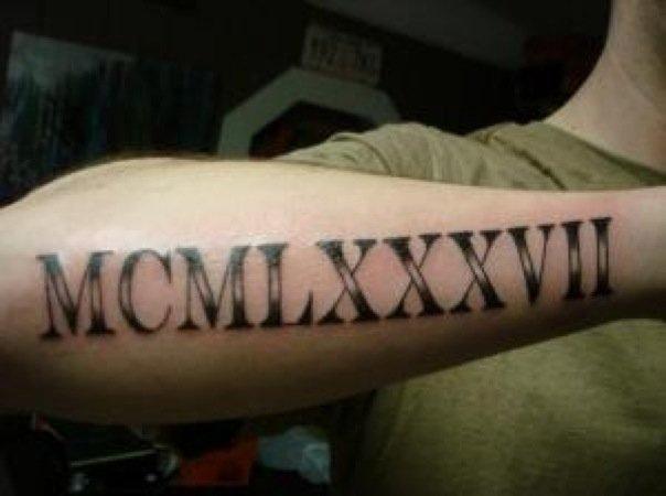 32+ Best Roman Numerals Tattoos For Girls