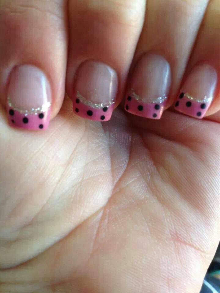 55 Best Polka Dots Nail Art Design Ideas For Trendy Girls
