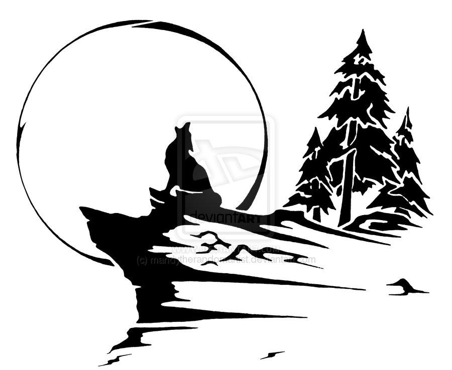 Blue Eye Coyote Tattoo Design By Captainmorwen