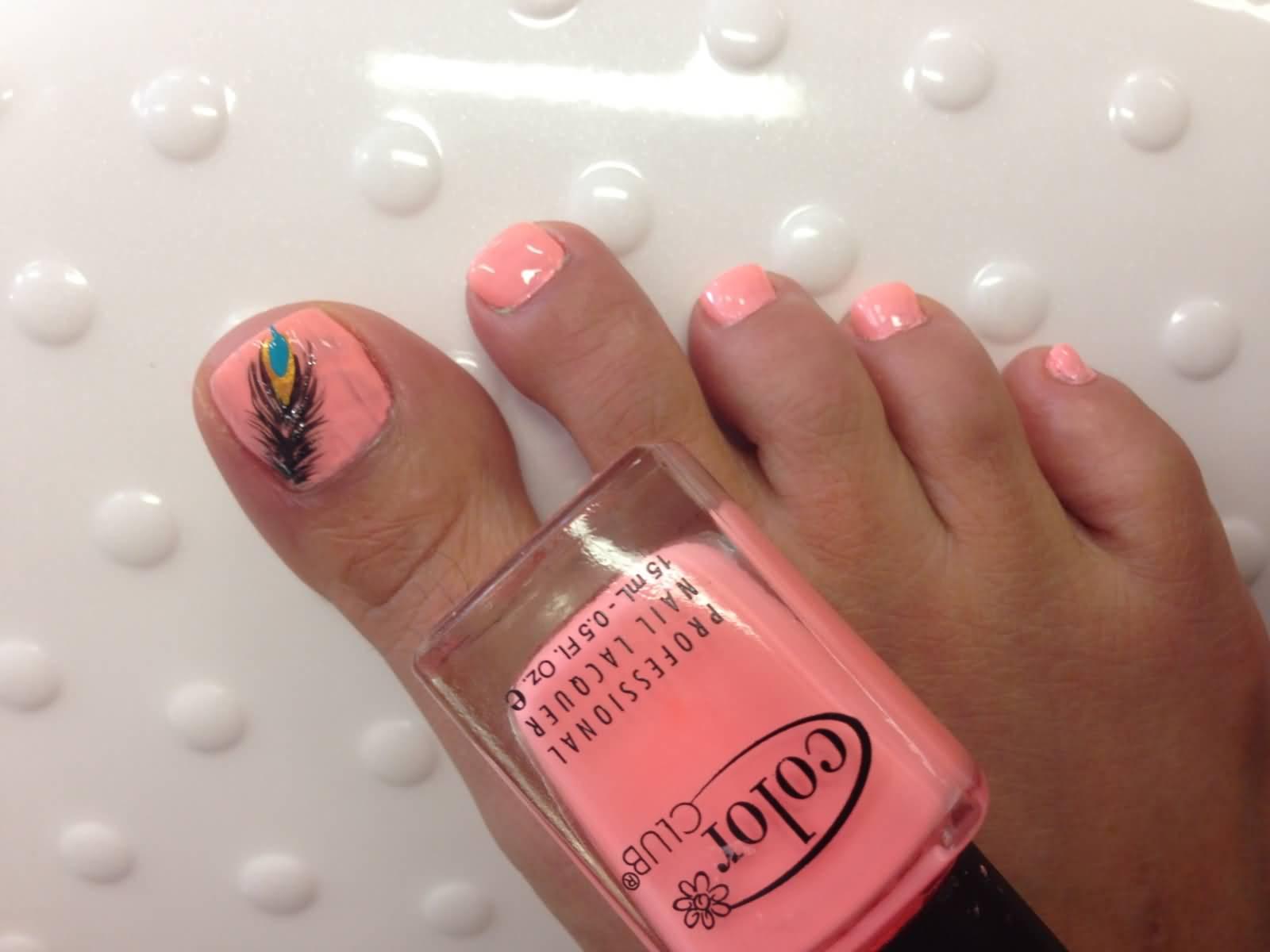 Baseball toe nail art best nails art ideas prinsesfo Gallery