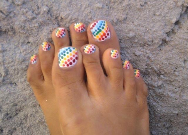 Toe nail designs cruise bellesalud bellos diseos de pedicure toenail art designs on view images best polka dots prinsesfo Image collections