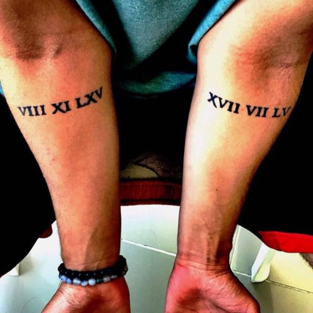 75 incredible roman numerals tattoos