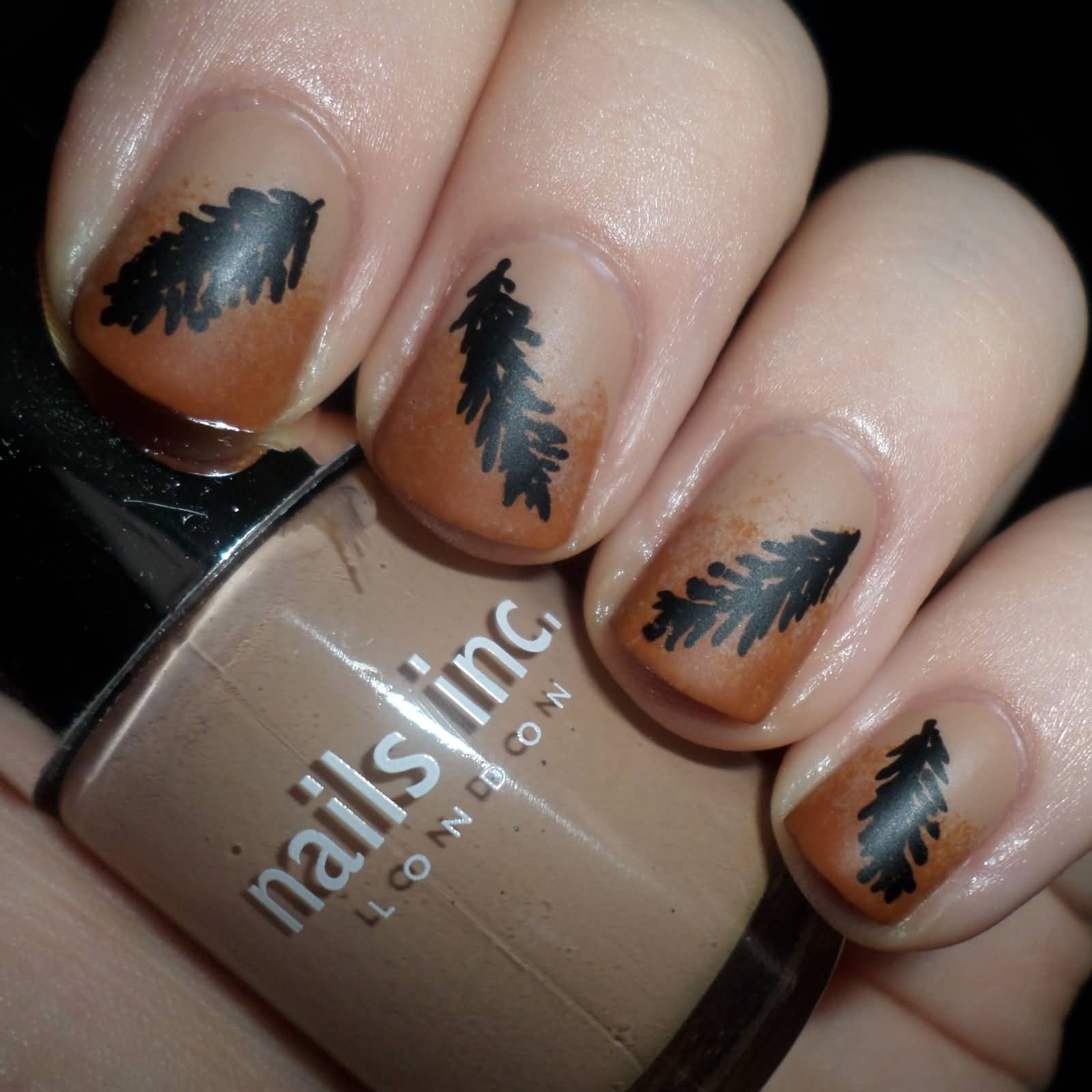 Feather Nail Art - Askideas.com