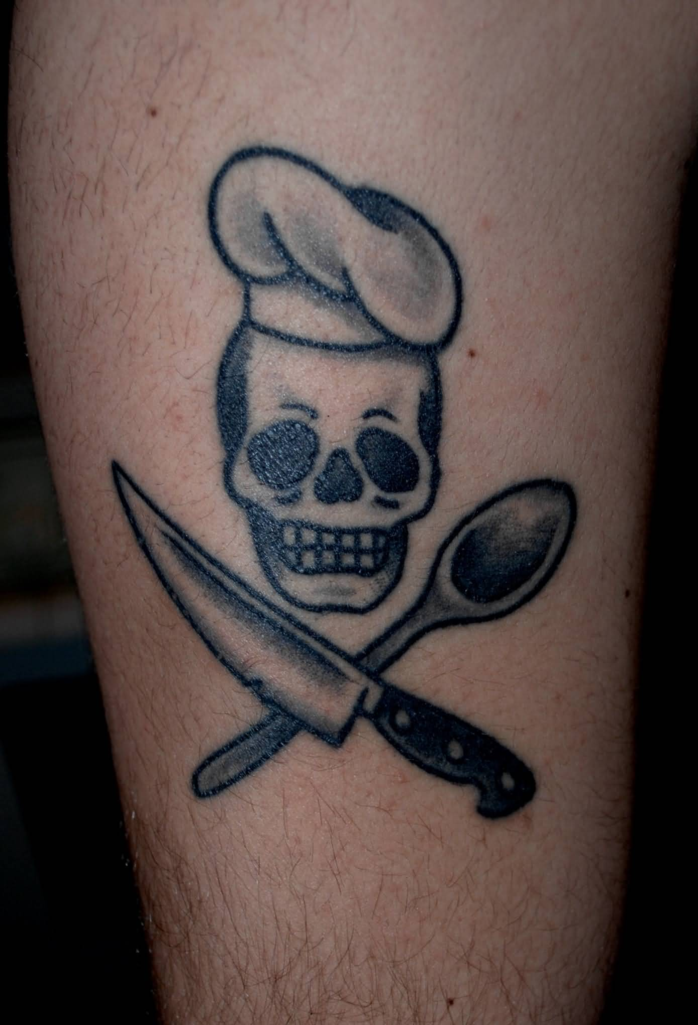 21  Awesome Chef Knife Tattoos