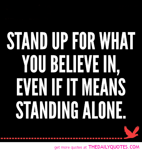 Take A Stand Quotes Askideas Com