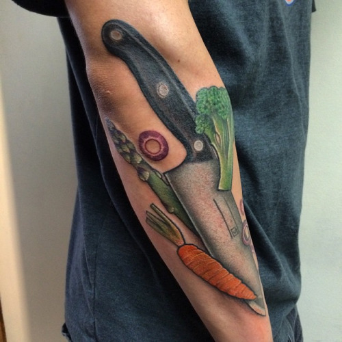 31+ Traditional Chef Tattoos