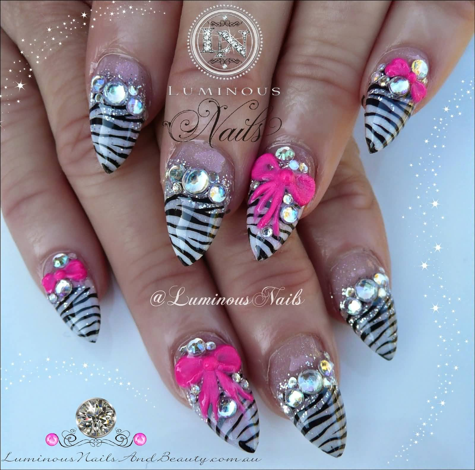 The digital dozen does childhood 3 tiger lilly memories nail art latest zebra print nail art design ideas for girls tiger lily nail art prinsesfo Gallery