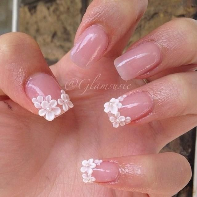 50 Most Beautiful Wedding Nail Art Design Ideas For Bridal