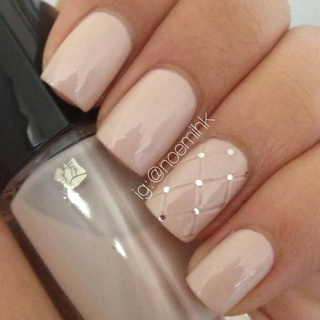50 most beautiful wedding nail art design ideas for bridal accent corset design wedding nail art prinsesfo Choice Image