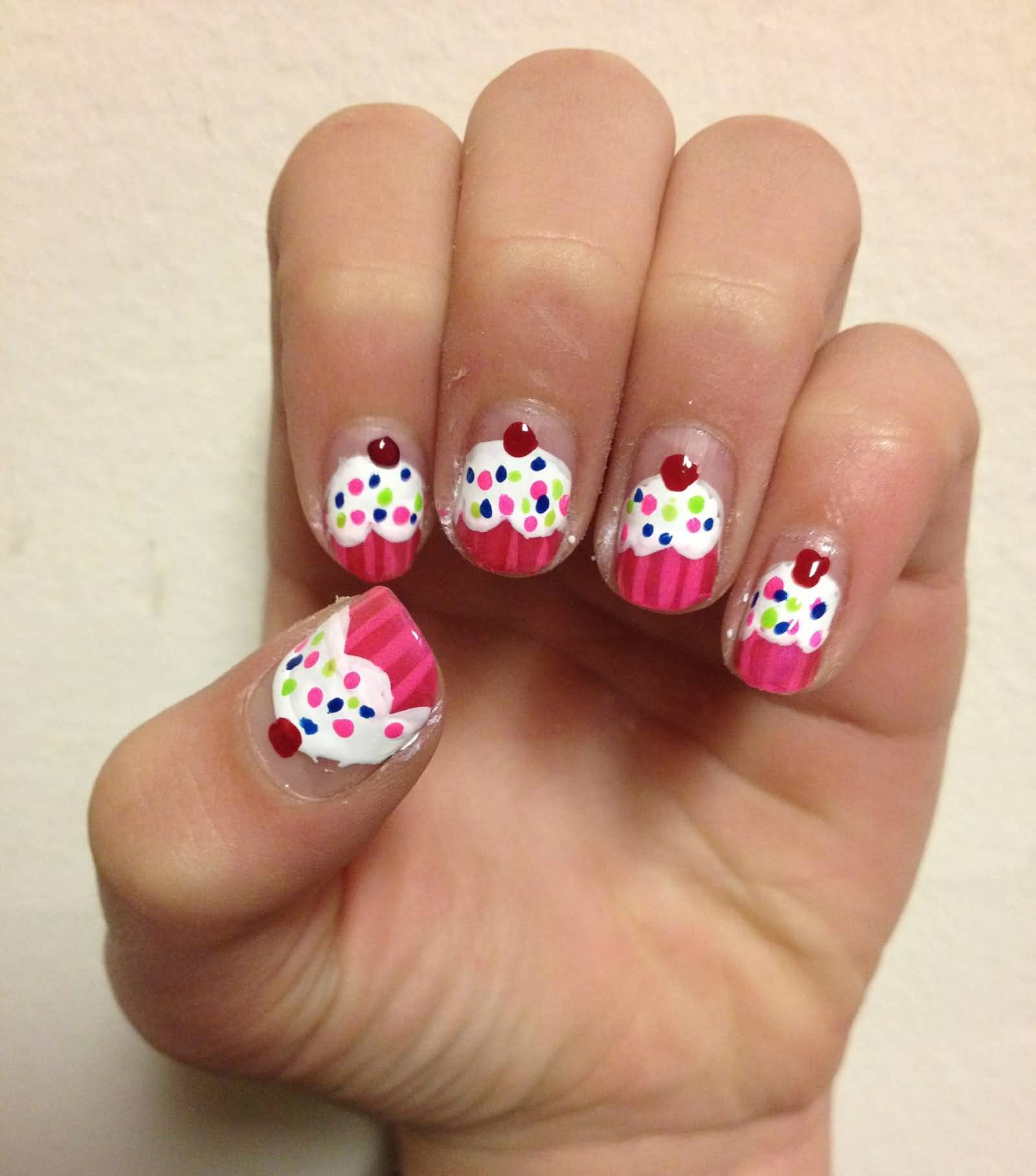Cute Nail Art Designs For Girls