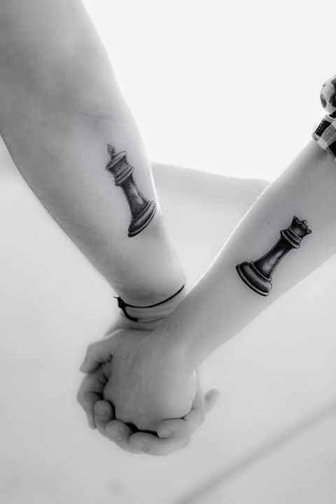 3c6674a8e 31+ Beautiful Matching Tattoos For Couple