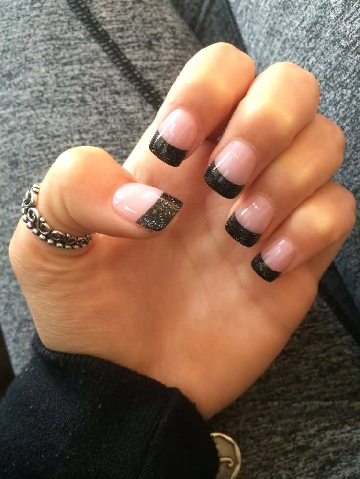 55 Gorgeous French Tip Nail Designs for a Classy Manicure  |Painting Tip Nail Ideas