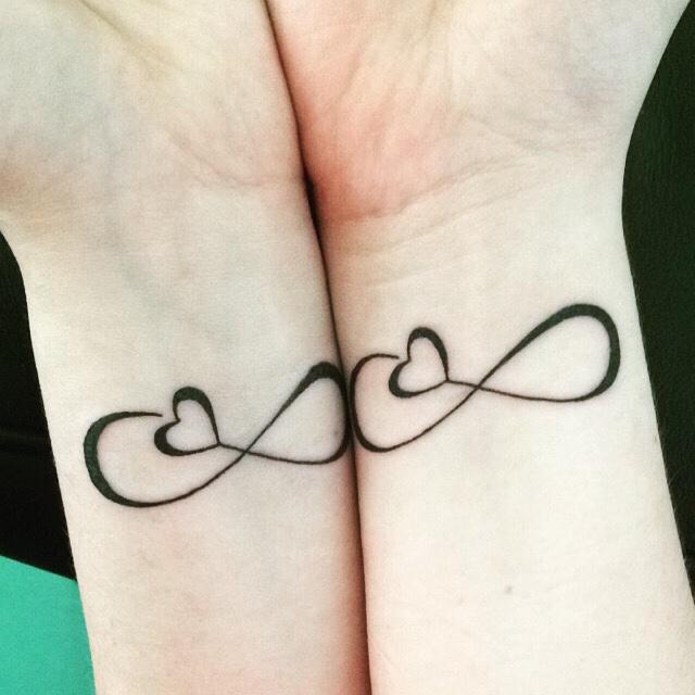 Heart Lock And Key Matching Tattoos