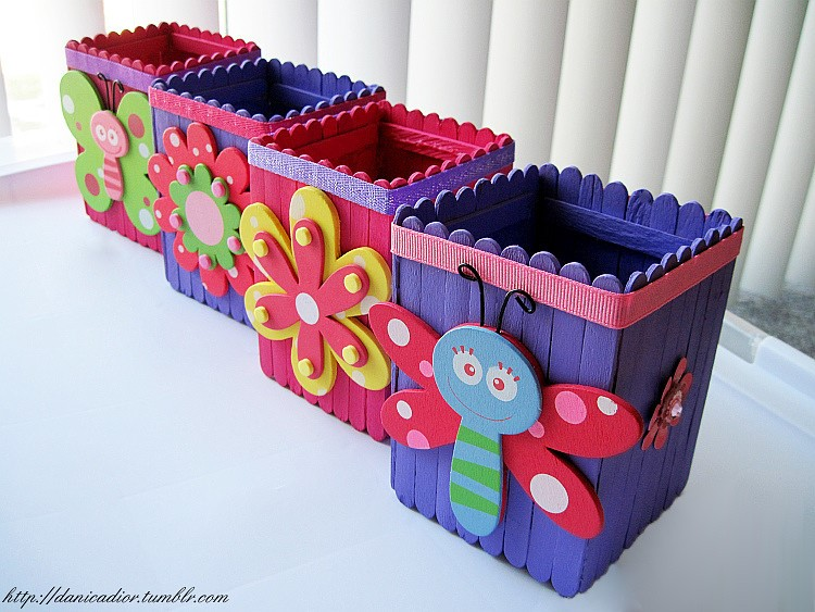 23 beautiful craft created with popsicle sticks ice for Ice cream sticks craft