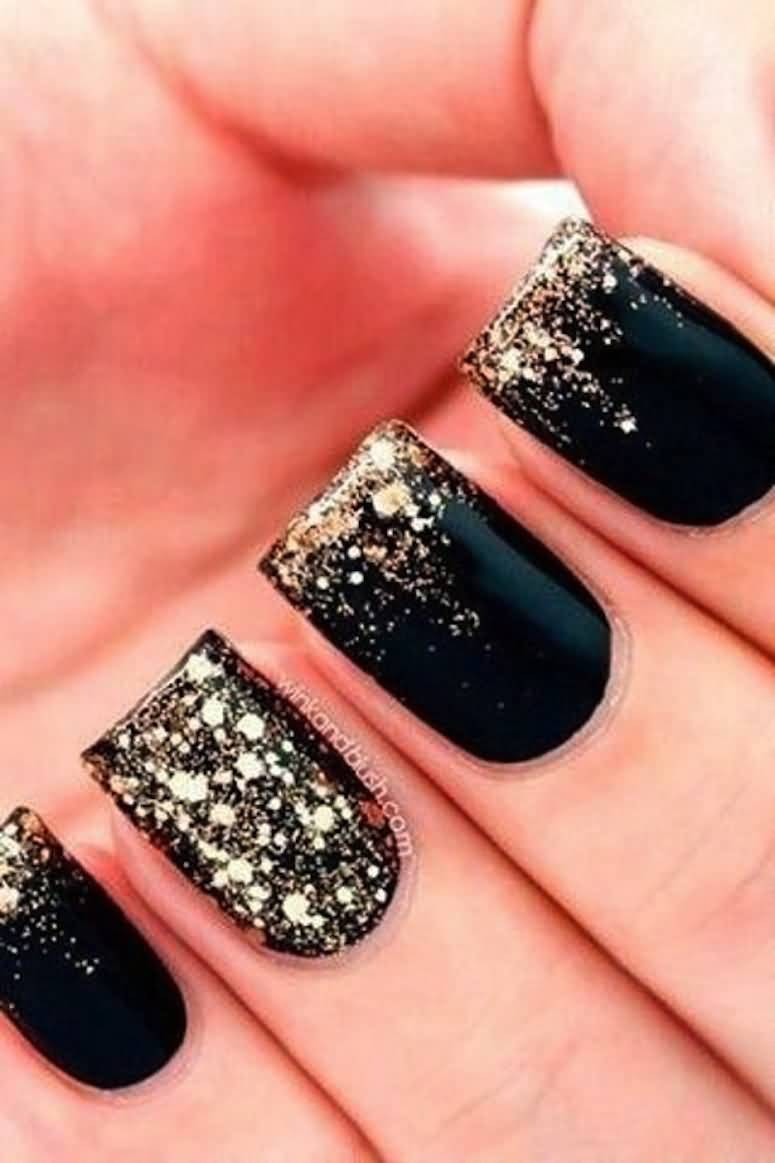 55 latest black nail art design ideas - Fingernails Designs Idea